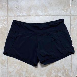 """Lululemon speed up shorts 4"""""""